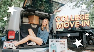pack with me for college + move in vlog 2018!!