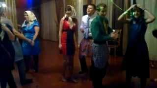 """Конкурс на свадьбе - """"трусы - платочки""""!"""