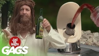 Wine Pranks - Best of Just For Laughs Gags