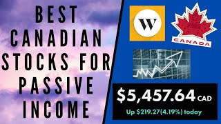 BEST CANADIAN STOCKS FOR PASSIVE INCOME | 3 DIVIDEND STOCKS TO BUY (1 ETF, 1 BANK, 1 REIT)
