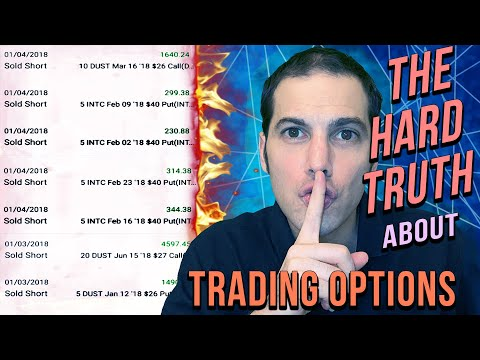 The Hard Truth About Options Trading for Income (Strategy / Tutorial)