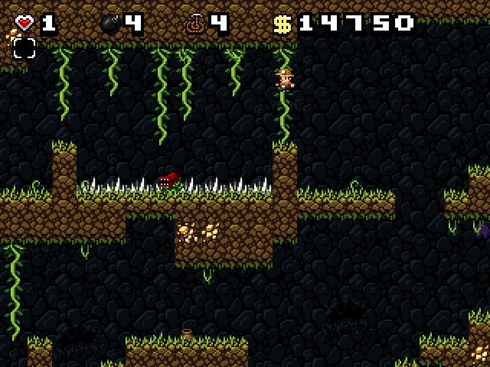 Cgroverboard Spelunky For Pc Video Game Review Youtube