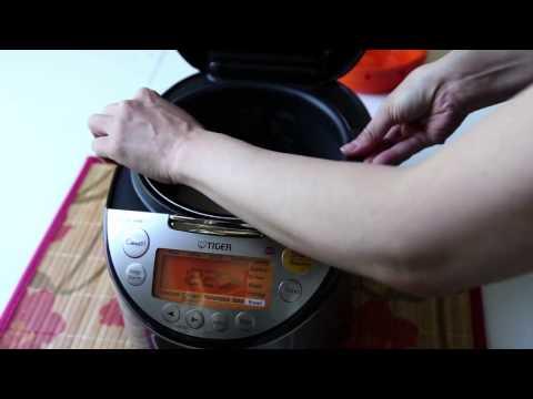 TIGER - RICE COOKER (tacook JKT) Cooking White Rice BY HEAP SENG GROUP