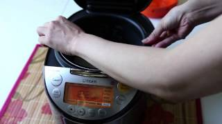 TIGER - RICE COOKER (tacook JKT) Cooking White Rice BY HEAP SENG GROUP