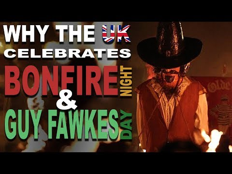Disturbing Origin of Bonfire Night & Guy Fawkes Day