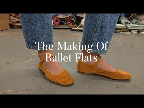 How Ballet Flat Shoes Are Made | The Zoe Report by Rachel Zoe
