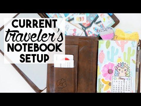 Current A6 and B6 Traveler's Notebook Setups
