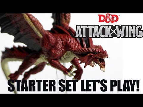 Let's Play D&D Attack Wing with Nathan - Raw & Uncut