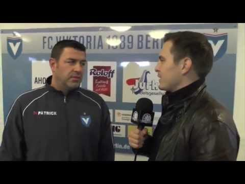 Interview mit Mario Block (Trainer FC Viktoria 1889 Berlin) | SPREEKICK.TV