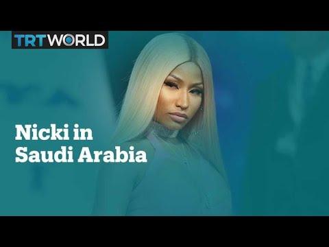 Rapper Nicki Minaj set to headline festival in Saudi Arabia