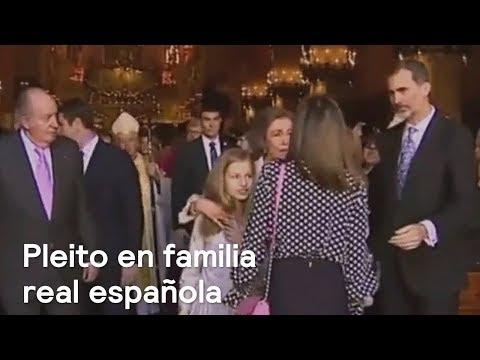 Se hace viral video de desencuentro entre las reinas Letizia y Sofía - Despierta con Loret