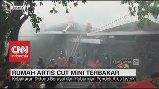 Rumah Cut Mini Theo di Kemang, Jakarta Selatan Ludes Terbakar