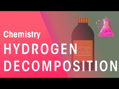 Decomposition Of Hydrogen Peroxide | Reactions | Chemistry | The Fuse School