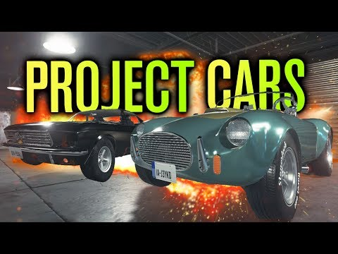 MEET THE PROJECT CARS!
