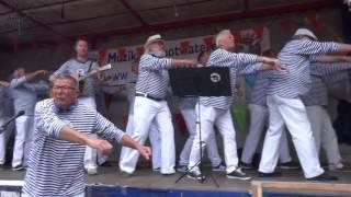 Nieuwendammer shantykoor van Harlingen naar Terschelling