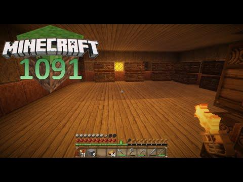 MINECRAFT #1091 - Lagererweiterung ☼ Let's Play Minecraft [HD]
