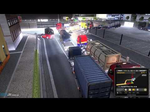 Euro Truck Simulator 2 Multiplayer Türkçe | Limanda Dehşet ve Trafik