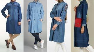 Allday 2017 Şık ve Rahat Kot Tunik Modelleri 2-2