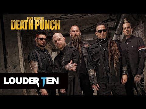 Top 10 Five Finger Death Punch Songs - Louder Ten