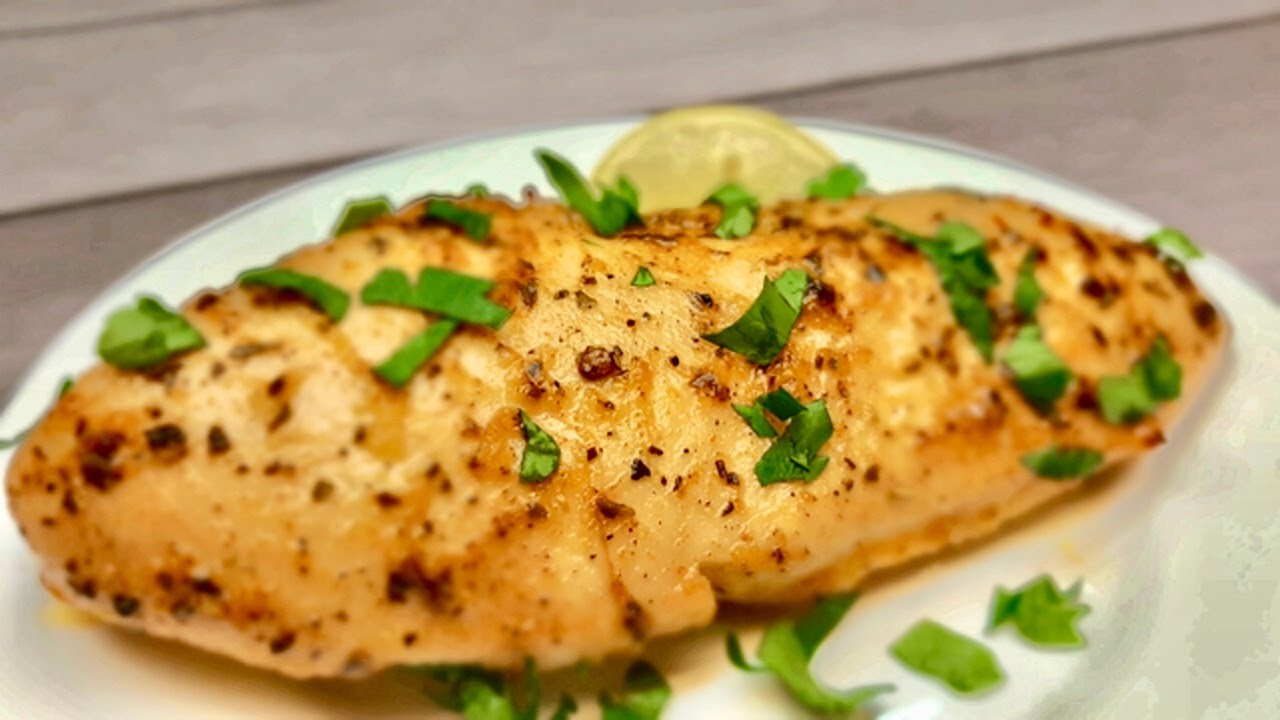 Chicken Breast That Always Will Be Juicy ~ Baked Lemon Chicken Breast Recipe | Healthy Recipes