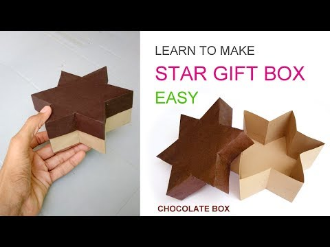 easy paper gift box or Chocolate box