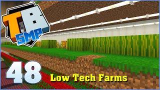 Low Tech Farms | Truly Bedrock Season 2 Episode 48 | Minecraft Bedrock Edition