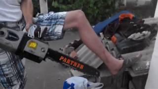 видео Советы по работе с бензопилами