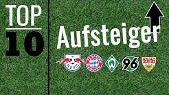 Top 10 Aufsteiger in der Bundesliga ⚽️  Die 10 besten Aufsteiger in der Fußball #Bundesliga