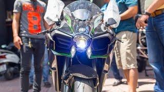 Xe.tinhte.vn - Tiếng pô, tiếng hú, chi tiết Kawasaki Ninja H2 tại Việt Nam