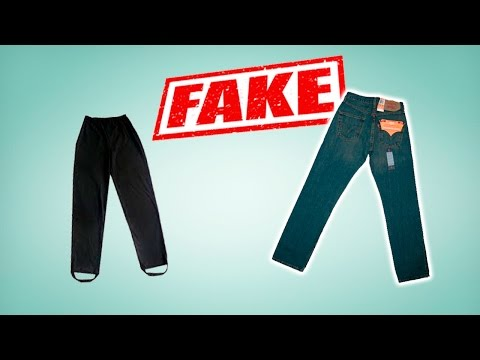 Levi's 501 jeans: REAL vs Fake. Iriska Fashion Lab International