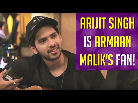Thumbnail: Arijit Singh Announces That He is a Fan of Armaan Malik !