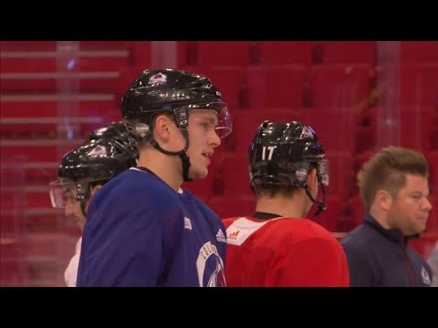 Mic'd Up: Avalanche forward Mikko Ranatenen prepares for Global Series
