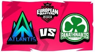 PAO eSports Vs Team Atlantis | ΑΠΙΣΤΕΥΤΟ GAME! | HIGHLIGHTS GAME 2