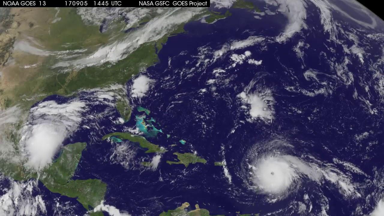 NASA Satellites Show Hurricane Irma Hitting Florida