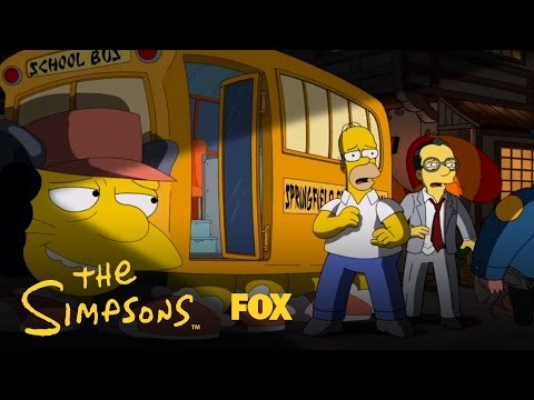 An Anime Tribute | Season 25 | THE SIMPSONS
