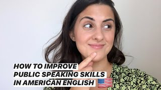 How to Improve Your Public Speaking Skills in American English │INTONATION