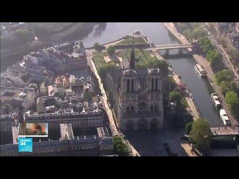 كاتدرائية نوتردام في باريس تحفة معمارية استغرق بناؤها نحو 200 عام