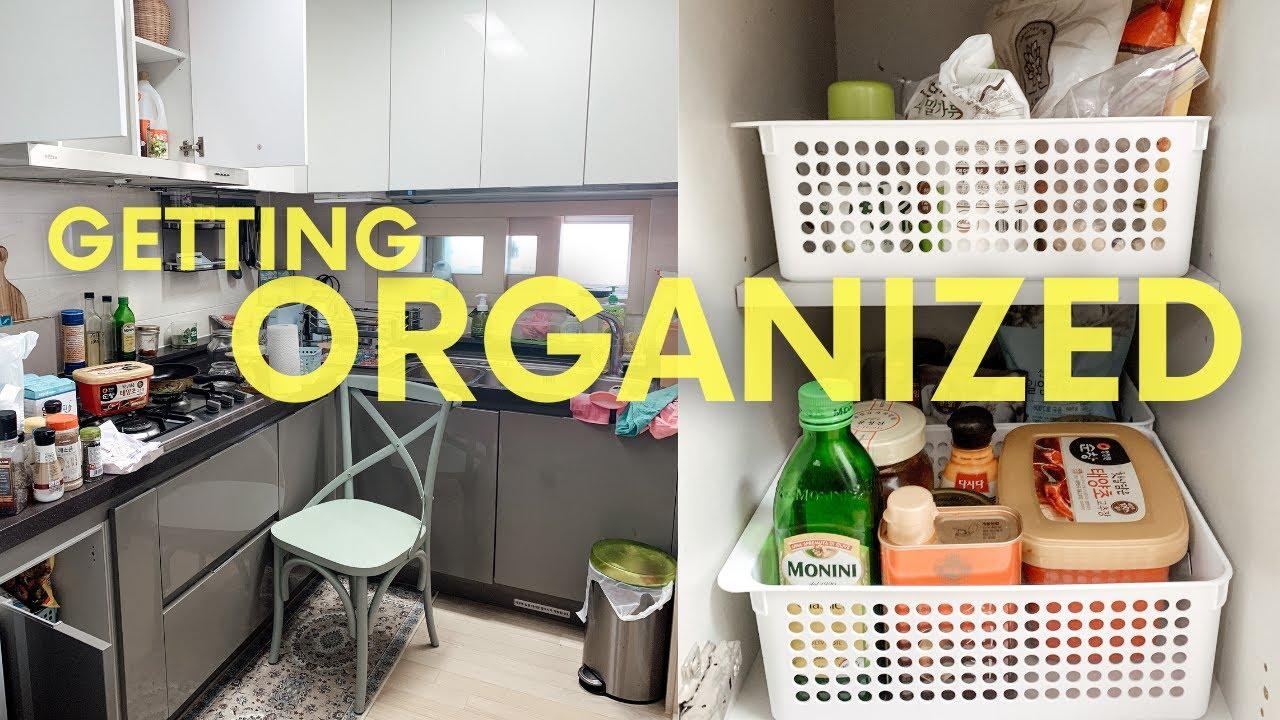 Extreme Kitchen Organization | Kitchen Cabinet Organization 2020 | Clean With Me Apartment pt 2