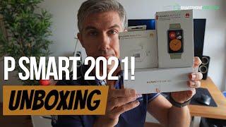 Huawei P Smart 2021 Unboxing