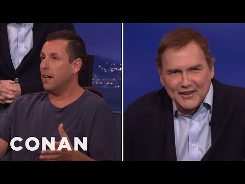 The First Time Adam Sandler & Norm Macdonald Acted Together  - CONAN on TBS