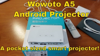 Wowoto A5 - A Pocket Sized Android (4.2) Projector