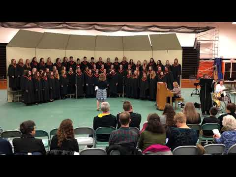Madrid High School Choir- Blue Skies