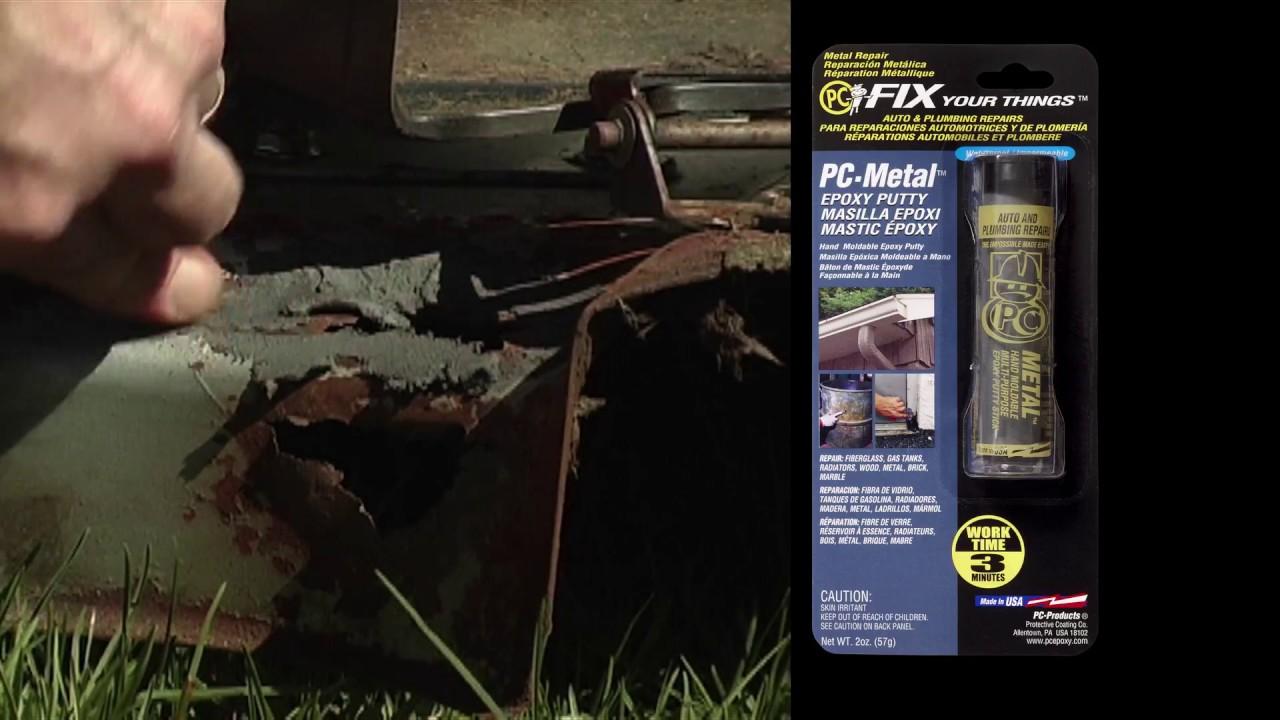 PC Metal putty epoxy