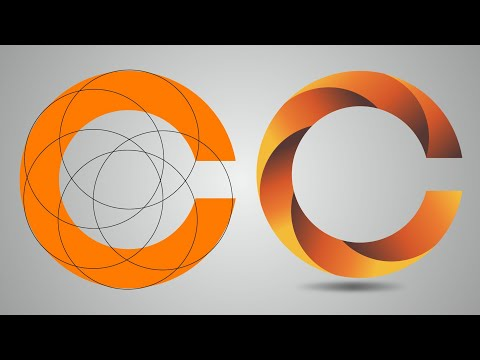 Adobe illustrator letter logo design tutorial | 3d logo design tutorial in Ai thumbnail