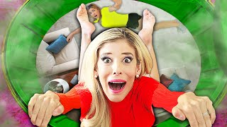 Found Game Master Lair Room Hidden inside Secret Tunnel in Our House!   Rebecca Zamolo