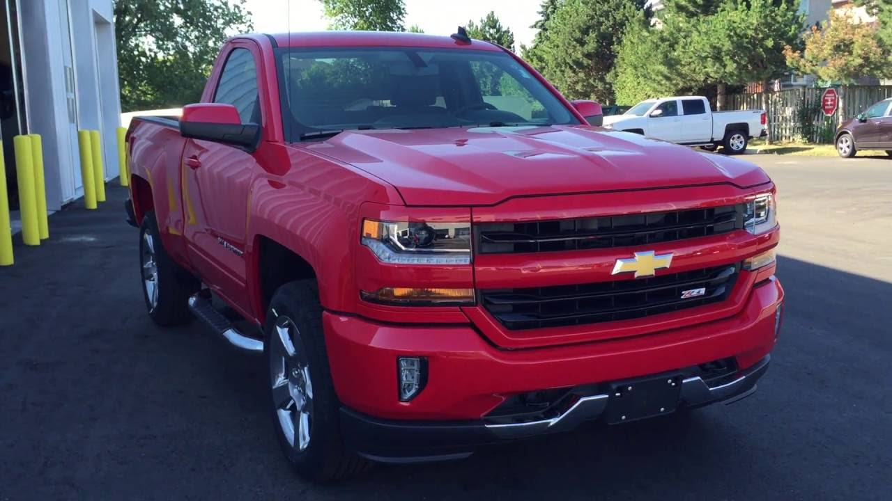 2016 Chevrolet Silverado 1500 Lt Red Hot Roy Nichols Motors Courtice On