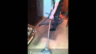 Химчистка ковролина(Профессиональная химчистка ковров, ковровых покрытий и мягкой мебели на дому. Мурманск., 2015-05-05T19:16:21.000Z)
