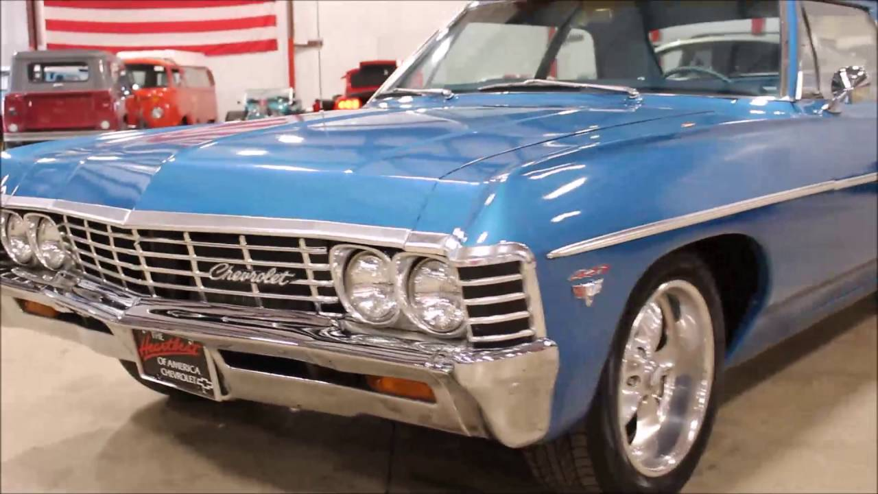 All Chevy chevy 1967 : 1967 Chevy Bel Air - YouTube