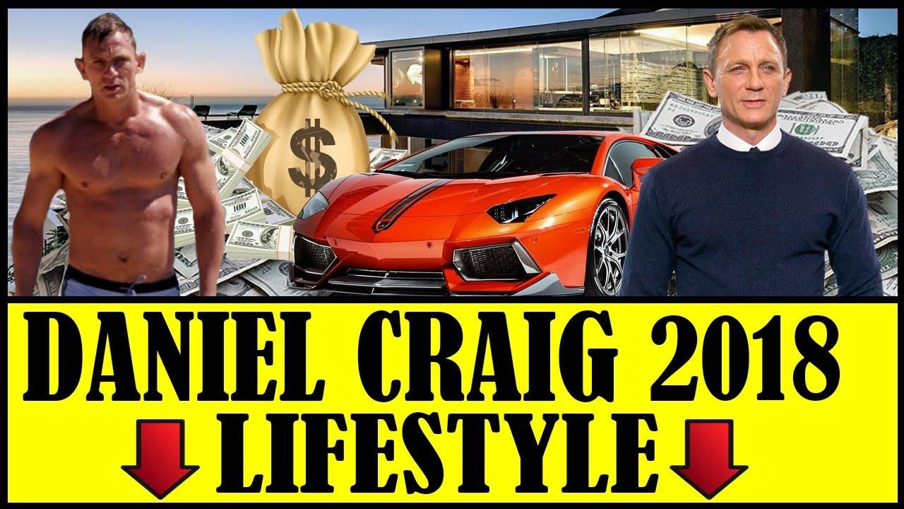 Daniel Craig ★★ School ★ Girlfriend ★ House ★ Cars ★ Net ...
