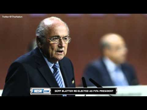 FIFA President Sepp Blatter Re-Elected For Fifth Term